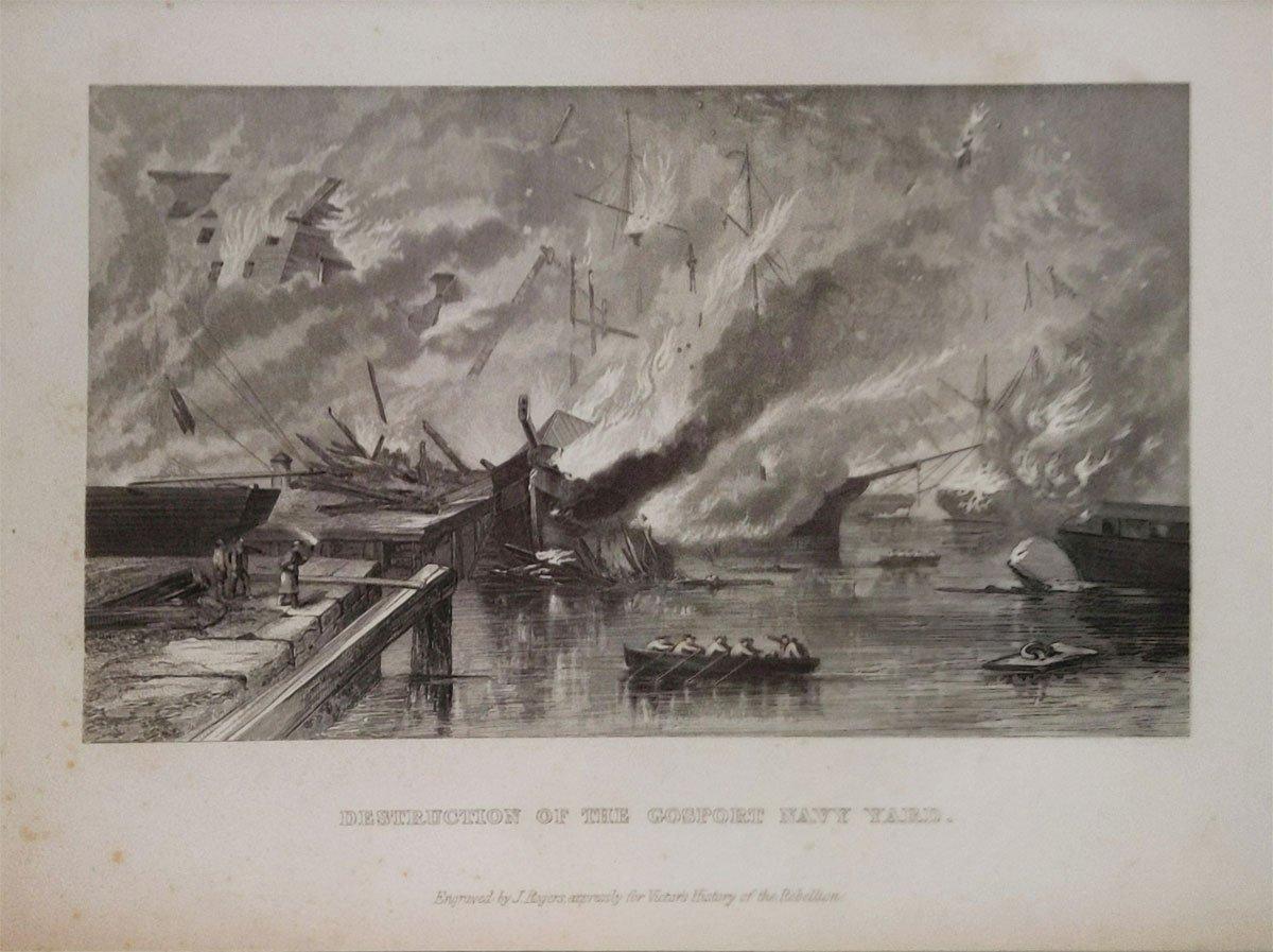 Destruction-of-Gosport-Navy-Yard